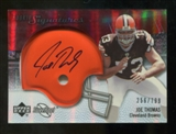 2007 Upper Deck Sweet Spot #109 Joe Thomas RC Autograph /799