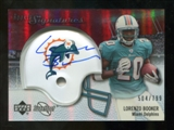 2007 Upper Deck Sweet Spot #115 Lorenzo Booker RC Autograph /799