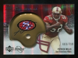 2007 Upper Deck Sweet Spot #124 Patrick Willis Autograph /799