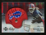 2007 Upper Deck Sweet Spot #131 Marshawn Lynch Autograph /399
