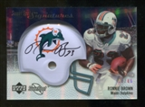 2007 Upper Deck Sweet Spot Signatures Silver 49 #BR2 Ronnie Brown Autograph /49