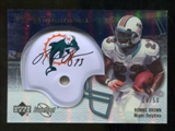2007 Upper Deck Sweet Spot Signatures Silver #BR Ronnie Brown /50