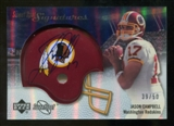 2007 Upper Deck Sweet Spot Signatures Silver 50 #JC Jason Campbell Autograph /50