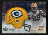 2007 Upper Deck Sweet Spot Signatures Silver 50 #JO James Jones Autograph /50