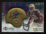 2007 Upper Deck Sweet Spot Signatures Silver #MC Marques Colston /50