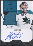 2011/12 Dominion #173 Harri Sateri Rookie Patch Auto #106/199