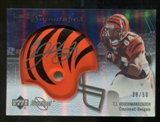 2007 Upper Deck Sweet Spot Signatures Silver 50 #TH T.J. Houshmandzadeh Autograph /50