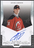 2012/13 Panini #RAL Adam Larsson Private Signings Rookie Auto