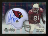 2007 Upper Deck Sweet Spot Signatures Silver #AB Anquan Boldin /75