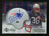 2007 Upper Deck Sweet Spot Signatures Silver #BM Brandon Meriweather /75