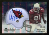 2007 Upper Deck Sweet Spot Signatures Silver #AB Anquan Boldin /99