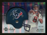 2007 Upper Deck Sweet Spot Signatures Silver #MS Matt Schaub /99
