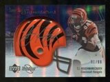 2007 Upper Deck Sweet Spot Signatures Silver 99 #TH T.J. Houshmandzadeh Autograph /99