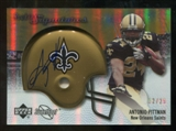 2007 Upper Deck Sweet Spot Rookie Signatures Gold #116 Antonio Pittman /29
