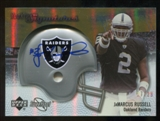 2007 Upper Deck Sweet Spot Rookie Signatures Gold #141 JaMarcus Russell /29