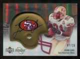 2007 Upper Deck Sweet Spot Signatures Gold #FG Frank Gore /20