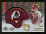 2007 Upper Deck Sweet Spot Signatures Gold #JC Jason Campbell /20