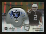 2007 Upper Deck Sweet Spot Rookie Signatures Gold #141 JaMarcus Russell /15
