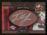 2007 Upper Deck Sweet Spot Pigskin Signatures Red #FG Frank Gore /15