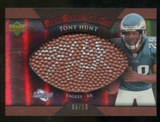 2007 Upper Deck Sweet Spot Pigskin Signatures Red 15 #HU Tony Hunt Autograph /15