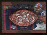 2007 Upper Deck Sweet Spot Pigskin Signatures Blue #LE Lee Evans /20