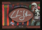 2007 Upper Deck Sweet Spot Pigskin Signatures Bronze 25 #CS2 Chansi Stuckey Autograph /25
