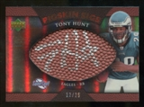 2007 Upper Deck Sweet Spot Pigskin Signatures Bronze 25 #HU Tony Hunt Autograph /25