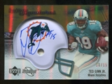2007 Upper Deck Sweet Spot Rookie Signatures Gold #138 Ted Ginn Jr. /15