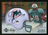 2007 Upper Deck Sweet Spot Rookie Signatures Gold #138 Ted Ginn Jr. /29