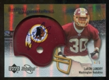 2007 Upper Deck Sweet Spot Rookie Signatures Gold #130 LaRon Landry /5