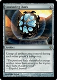 Magic the Gathering New Phyrexia Single Unwinding Clock FOIL