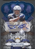 2010 Crown Royale #208 Ryan Mathews Blue Rookie Auto #11/25