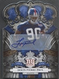2010 Crown Royale #142 Jason Pierre-Paul Rookie Auto #222/249