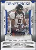 2009 Playoff Prestige #174 Michael Crabtree Rookie Draft Picks Auto #198/299