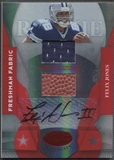 2008 Leaf Certified Materials #211 Felix Jones Mirror Red Rookie Ball Jersey Auto #046/100