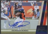 2011 Panini Threads #46 Knowshon Moreno Silver Auto #13/25