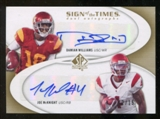 2010 Upper Deck SP Authentic Sign of the Times Duals #DJ Damian Williams Joe McKnight Autograph /15