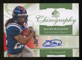 2010 Upper Deck SP Authentic Chirography #DX Dexter McCluster Autograph