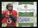 2010 Upper Deck SP Authentic Chirography #BC Brent Celek Autograph