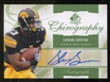 2010 Upper Deck SP Authentic Chirography #SG Shonn Greene Autograph