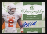 2010 Upper Deck SP Authentic Chirography #SK Sergio Kindle Autograph