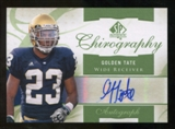2010 Upper Deck SP Authentic Chirography #GT Golden Tate Autograph
