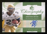 2010 Upper Deck SP Authentic Chirography #JD Jonathan Dwyer Autograph