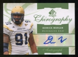 2010 Upper Deck SP Authentic Chirography #DE Derrick Morgan Autograph