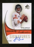 2010 Upper Deck SP Authentic Gold #159 Sean Canfield RC Autograph 11/25