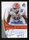 2010 Upper Deck SP Authentic #146 Jermaine Cunningham Autograph /599