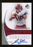 2010 Upper Deck SP Authentic #154 John Skelton Autograph /599