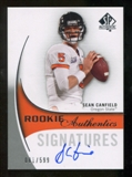 2010 Upper Deck SP Authentic #159 Sean Canfield Autograph /599