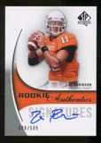 2010 Upper Deck SP Authentic #160 Zac Robinson Autograph /599