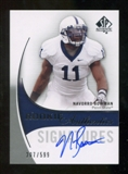 2010 Upper Deck SP Authentic #161 NaVorro Bowman Autograph /599